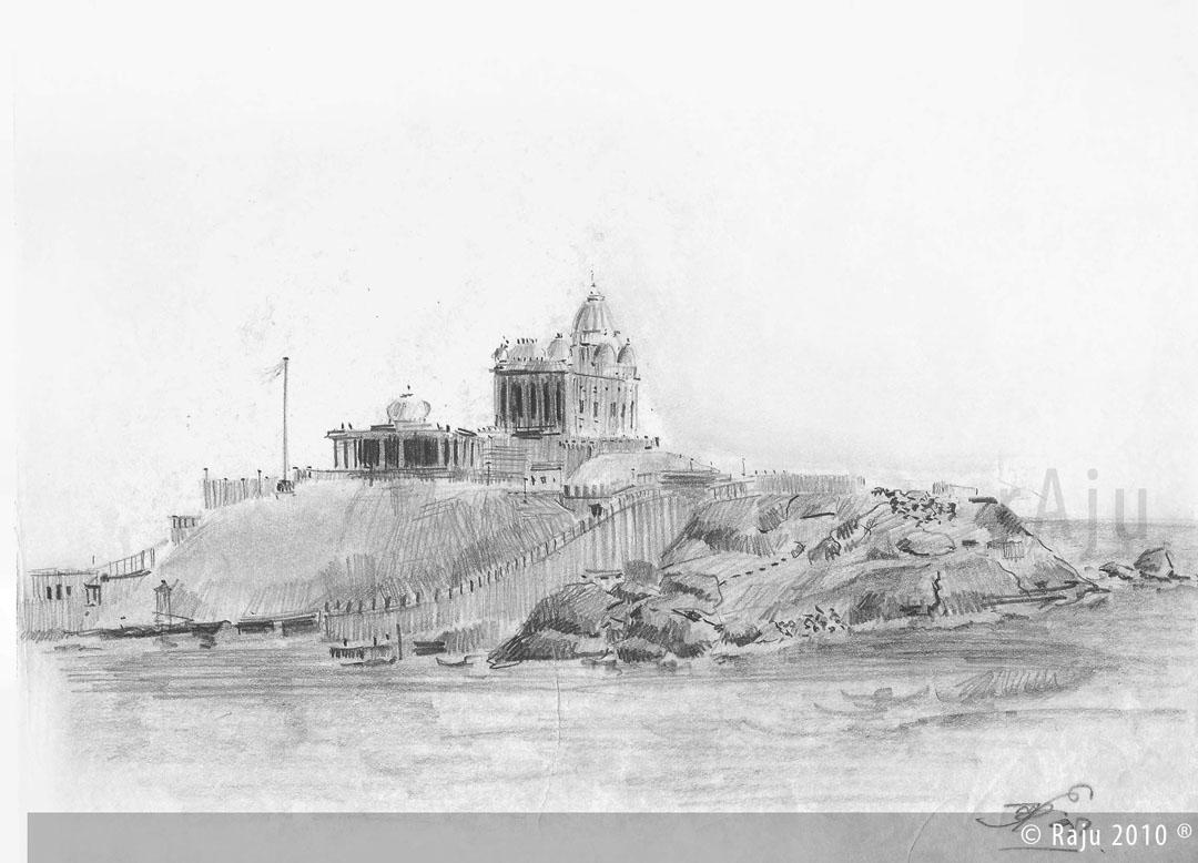 Vivekananda Rock Kanyakumari