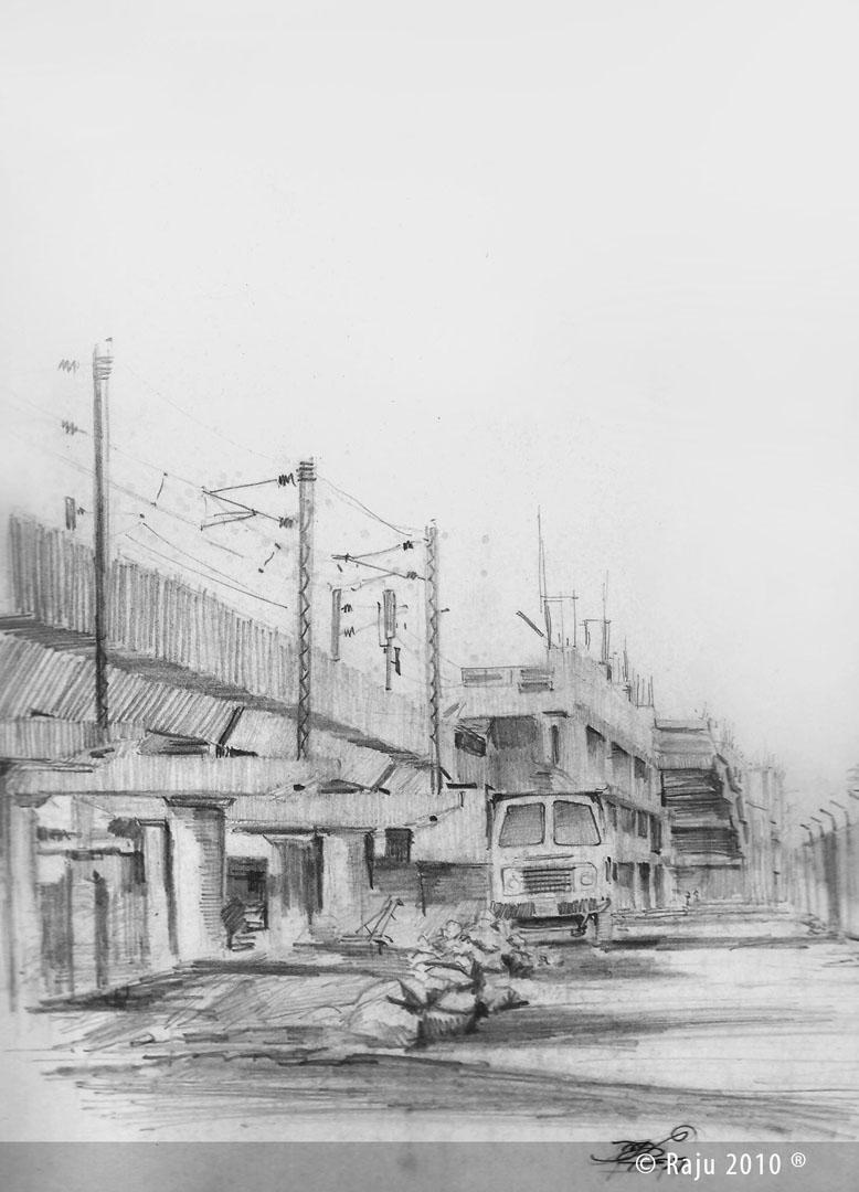 light house railway station chennai